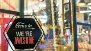 come in we re awesome sign 1051747 1024x683 1