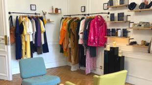 concept store showroom ephemere