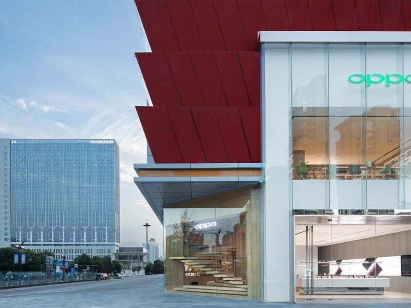 pop up store oppo