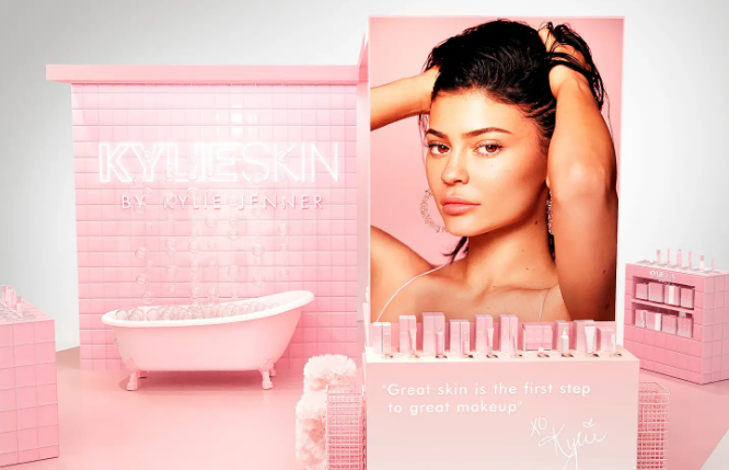 pop up store kylie skin